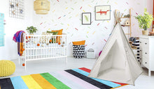 White Canvas Teepee Tent 5 Ft.