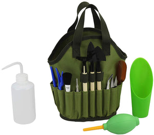 Succulent Tool Kit Organizer Bag