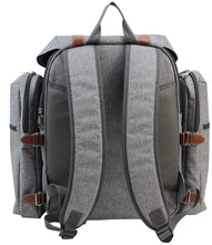 Sequoia Picnic Backpack Grey | 4 Person Service