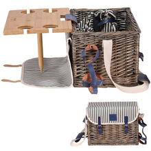 Pioneer Picnic Basket | Picnic Table Set | 4 Person Set
