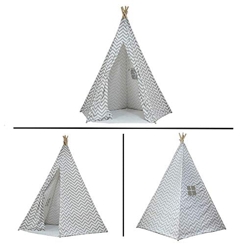 the best attitude 08486 7fe63 Large Chevron Pattern Teepee Tent 7 Ft.