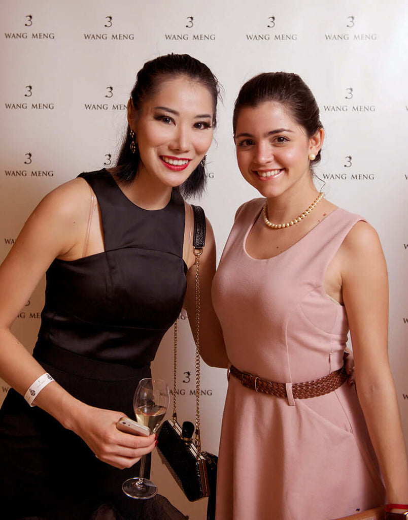 WANG NENG fashion events Singapore