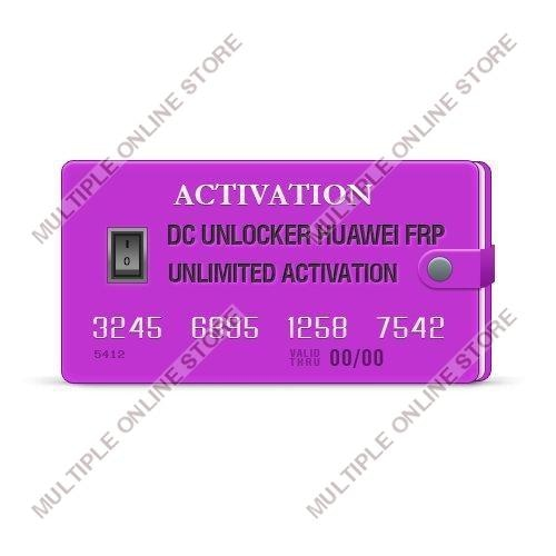 DC Unlocker Huawei FRP Unlimited Activation - MULTIPLE ONLINE STORE