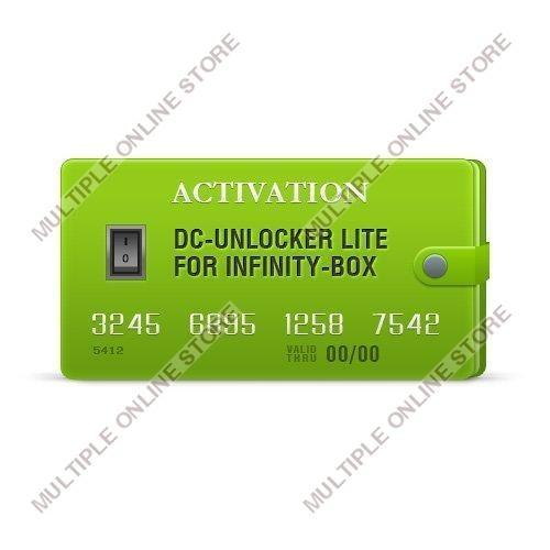 DC-Unlocker Lite Activation for Infinity-Box/Dongle - MULTIPLE ONLINE STORE