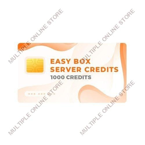 Easy-Box Server Credits Pack with 1000 Credits - MULTIPLE ONLINE STORE
