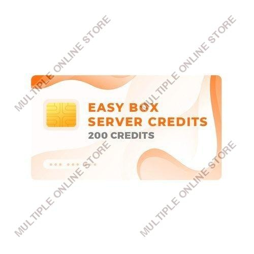 Easy-Box Server Credits Pack with 200 Credits - MULTIPLE ONLINE STORE