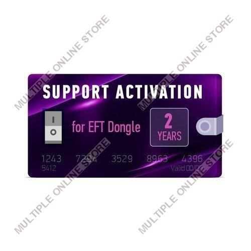 EFT Dongle 2 Years Support Activation - MULTIPLE ONLINE STORE