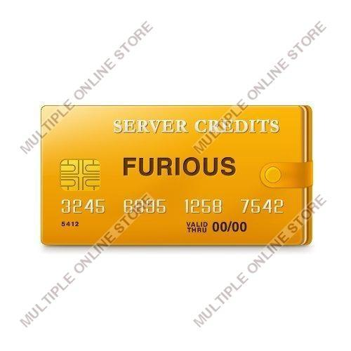 Furious Server Credits - MULTIPLE ONLINE STORE