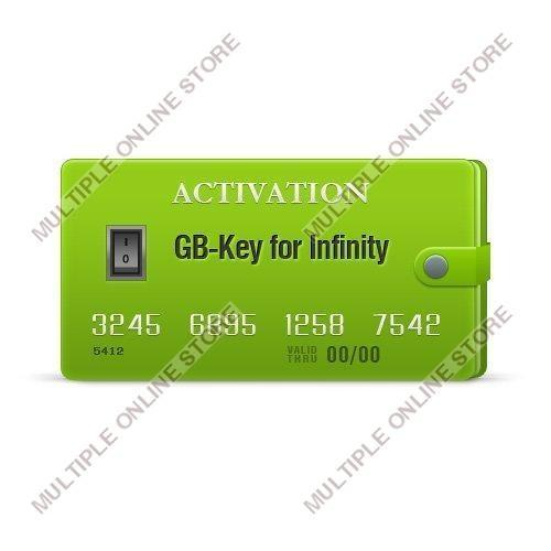 GB-Key Dongle Activation for Infinity-Box/Dongle, BEST Dongle, Infinity CDMA-Tool (with Pack 1 for 1 year) - MULTIPLE ONLINE STORE