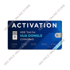 HDE Unlimited Activation for Hua Dongle - MULTIPLE ONLINE STORE
