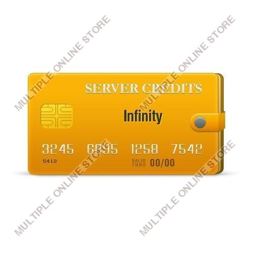 Infinity Server Credits - MULTIPLE ONLINE STORE