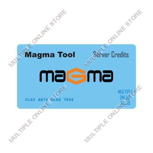 Magma Tool Server Credits - MULTIPLE ONLINE STORE