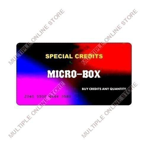 Micro-Box Special Credits - MULTIPLE ONLINE STORE