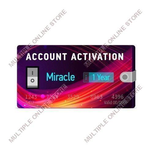 Miracle 1 Year Support Activation - MULTIPLE ONLINE STORE