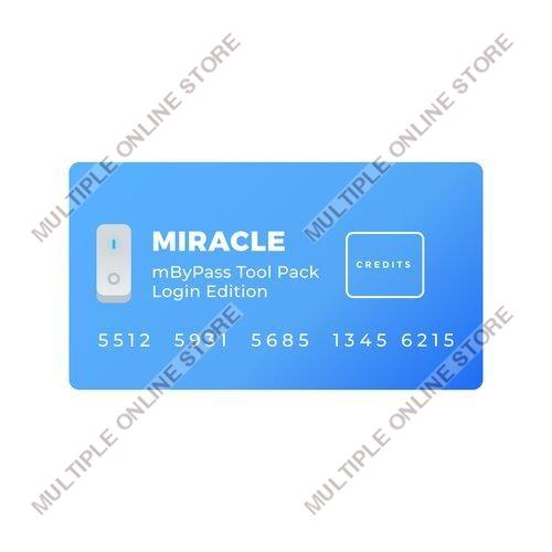 Miracle mByPass Tool Pack Login Edition Credits - MULTIPLE ONLINE STORE