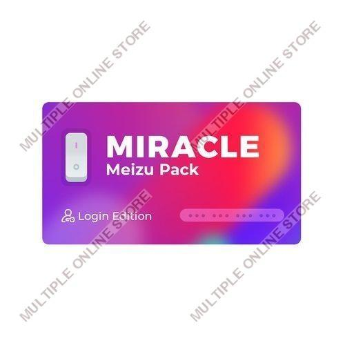 Miracle Meizu Pack Login Edition - MULTIPLE ONLINE STORE
