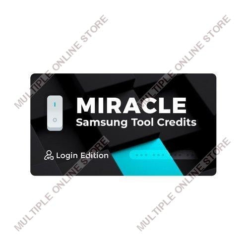 Miracle Samsung Tool Credits - MULTIPLE ONLINE STORE