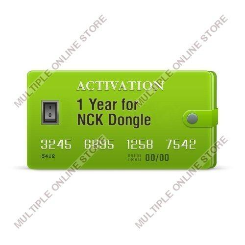 NCK (Box/Dongle) 1 Year Activation - MULTIPLE ONLINE STORE