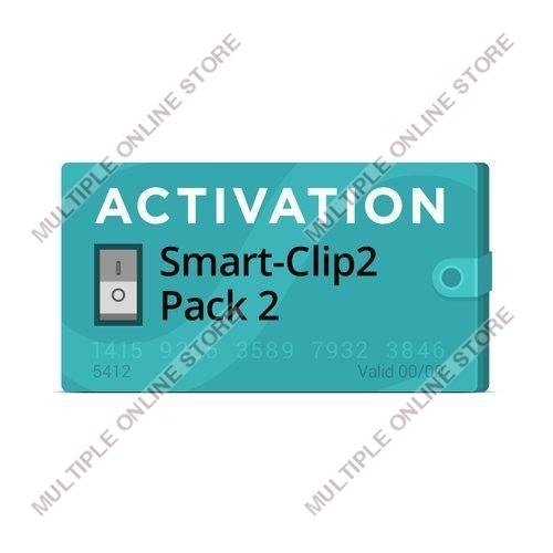 Pack 2 Activation for Smart-Clip2 - MULTIPLE ONLINE STORE
