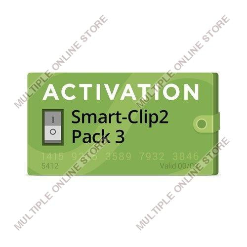Pack 3 Activation for Smart-Clip2 - MULTIPLE ONLINE STORE