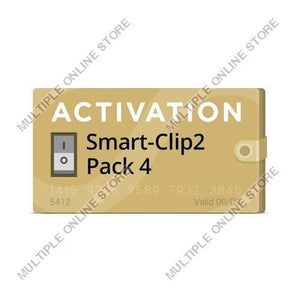 Pack 4 Activation for Smart-Clip2 - MULTIPLE ONLINE STORE