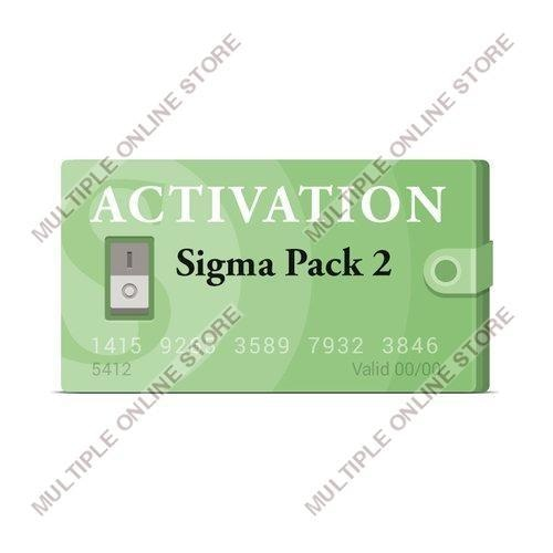 Sigma Pack 2 Activation - MULTIPLE ONLINE STORE