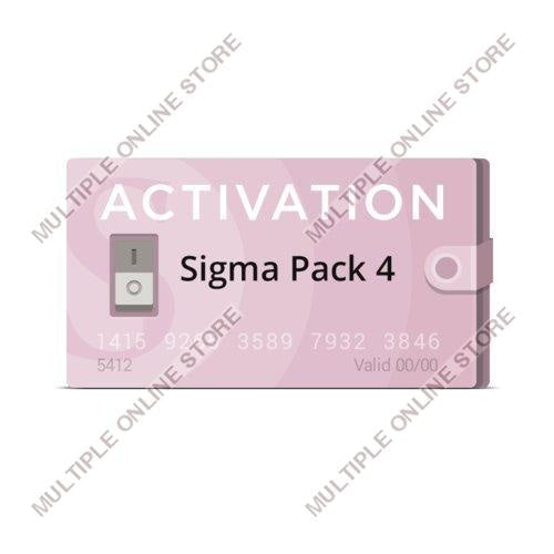 Sigma Pack 4 Activation - MULTIPLE ONLINE STORE
