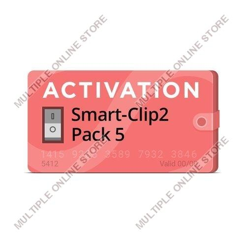 Smart-Clip2 Pack 5 Activation - MULTIPLE ONLINE STORE