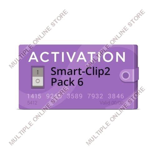 Smart-Clip2 Pack 6 Activation - MULTIPLE ONLINE STORE