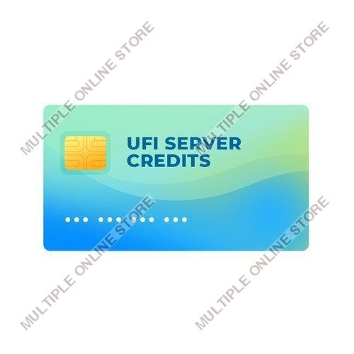 UFI Server Credits - MULTIPLE ONLINE STORE