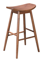 TRINITY BARSTOOL WALNUT SET OF 2