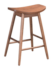 TRINITY COUNTER STOOL WALNUT SET OF 2
