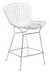 WIRE COUNTER CHAIR SET OF 2