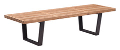 HEYWOOD DOUBLE BENCH NATURAL