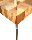 MONTE SIDE TABLE WITH METAL LEGS