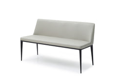 CRISTINA BENCH LIGHT GREY