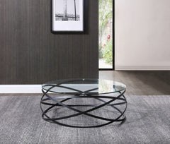 INFINITY COFFEE TABLE BLACK