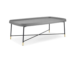 LULU COFFEE TABLE RECTANGLE GRAY
