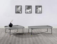 LULU COFFEE TABLE SQUARE GRAY