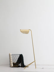 PIPER FLOOR LAMP GOLDEN