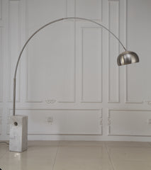 WESLEY FLOOR LAMP MARBLE BASE