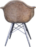 WALHALLA CLUB CHAIR LIGHT BROWN