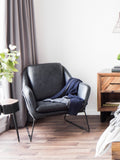 NARRACAN CLUB CHAIR BLACK