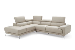 IVANNA SECTIONAL LIGHT GRAY