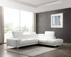 IVANNA SECTIONAL WHITE RIGHT CHAISE