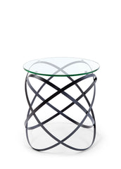 INFINITY SIDE TABLE BLACK