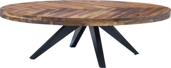 STAFF OVAL COFFEE TABLE