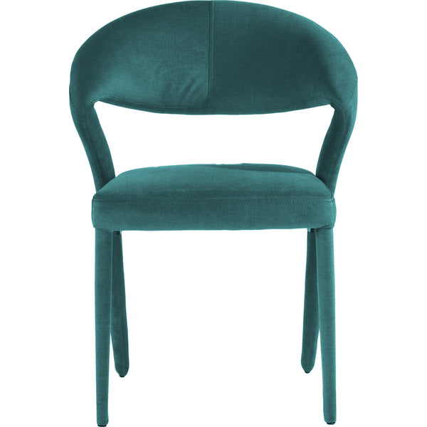 LENNY DINING CHAIR GREEN SET OF 2