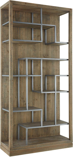 RAFTER VERTICAL DISPLAY SHELF