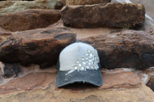 Faded Black Hat w/ Embellishment